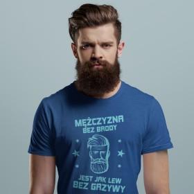 Mężczyzna bez brody jest jak lew bez grzywy