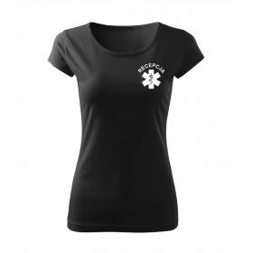 Recepcja koszulka damska v2