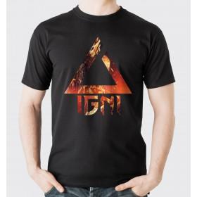 Koszulka ze znakiem IGNI [Wiedźmin]